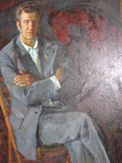 Семён Скопцов. Портрет поэта Николая Скрёбова
