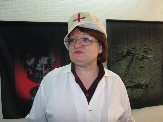 Марина Приходько - директор Музея современного изобразительного искусства на Дмитровской