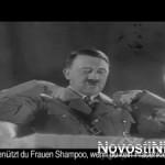 Турецких евреев возмутил Гитлер, рекламирующий шампунь для настоящих мужчин  (видео)