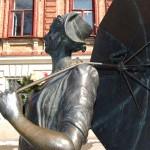 Пионэры поздравили Раневскую с 8 марта