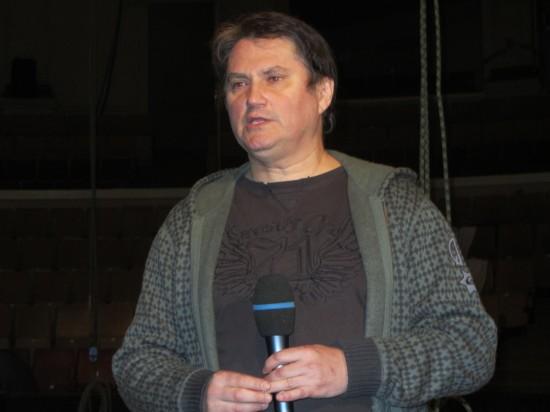 """ОЛЕГ ЧЕСНОКОВ ГЕНЕРАЛЬНЫЙ ПРОДЮСЕР МОСКОВСКОГО ТЕАТРА-ЦИРКА """"КРАКАТУК"""""""
