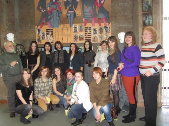 ДГПБ студенты  Института архитектуры и искусств Южного федерального университета,