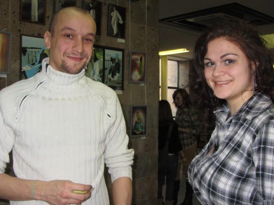 Даниил Алексеев и Юлия Пивоварова - джазовая певица