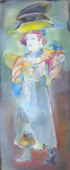 Гаянэ Хачатурян. Зеркальная цветочница.1992.