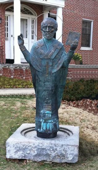 Памятник Св. Николаю Угоднику в Вашингтоне