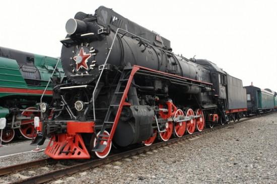 Грузовой паровоз ЛВ18-002 (ОР18-002)