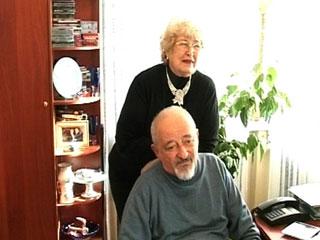 Роман Розенблит с женой