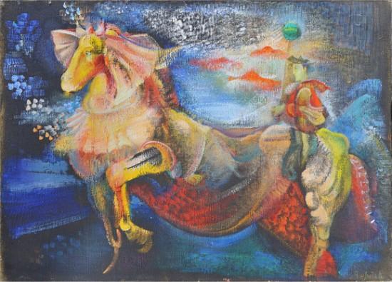 «Армен и его лошадь». Гаянэ Хачатурян. 1978 год.