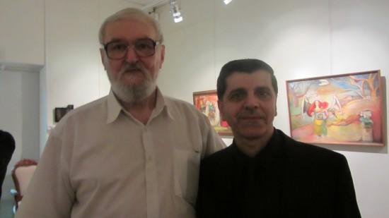 Два Валерия: искусствовед Валерий Рязанов и куратор Валерий Ханукаев
