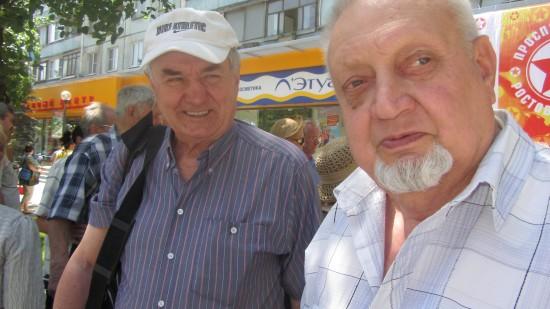 Ветераны спорта, цирковые артисты, соратники Владилена Левшина
