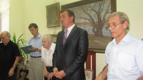 Владимир Лемешев и Министр культуры ростовской области Александр Резванов