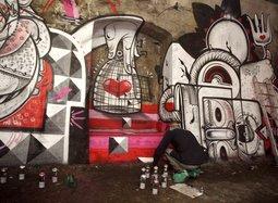 Лучший мастер граффити разрисует Шахты