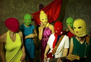 Группа Pussy Riot. 2012. фото Игоря Мухина.