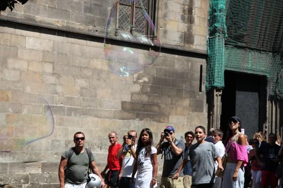 Пузыри Барселоны. Фотографиня - Галина Пилипенко