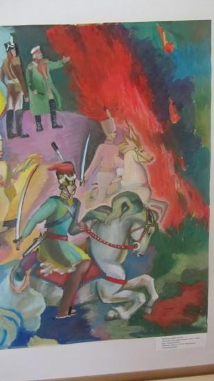 Рисунок АШХЕН БАБЛОЯН, за который девушка получила ГРАН-ПРИ