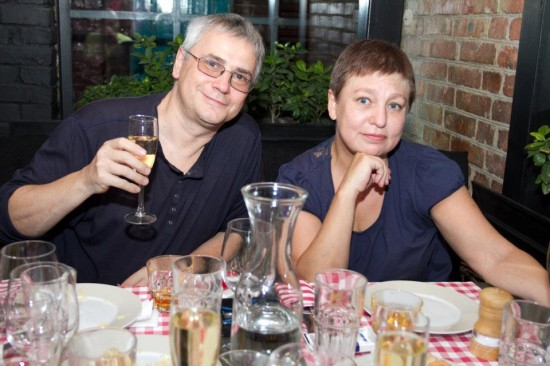 Сергей Медведев и Юля Быкова. Фото: Наталья Иванова-Достоевская