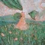 Живописица Аня в маковых полях
