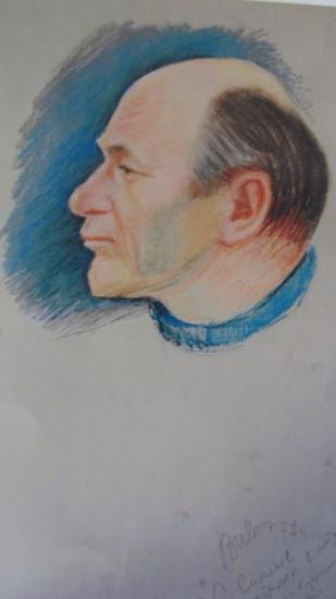 Светолуч Соколов. Рисовал Василий Иващенко