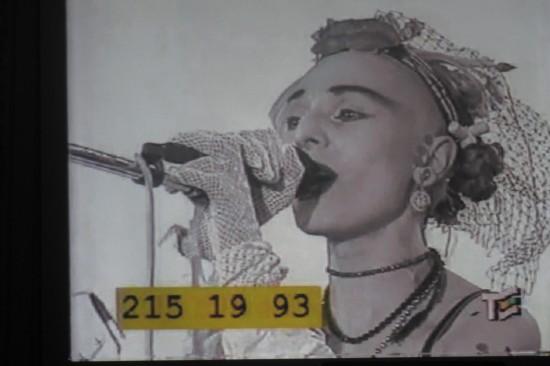 Жанна Агузарова. Кадр из  программы экс-ростовчанина Дмитрия Диброва