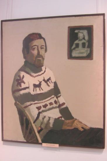 Тимофей Теряев. Портрет искусствоведа Александра Токарева
