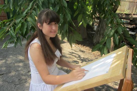 15-ти летняя Наталья Дмитриева