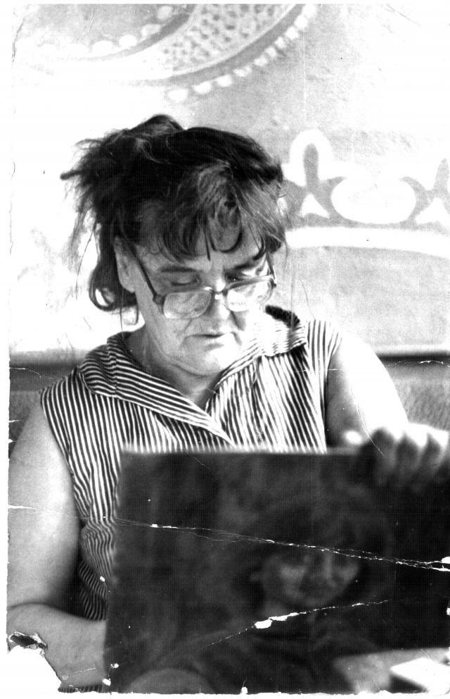 Rostov-on-Don. Artist and poet Elfrida Pavlovna Novitskaya.Ростов-на-Дону. Эльфрида Павловна Новицкая.Главная женщина Советского Союза