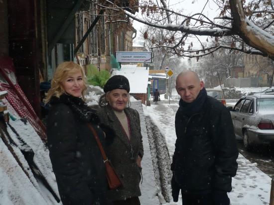 Я - Галина Пилипенко, НЭП и Саша Расторгуев.