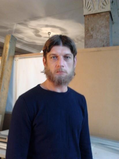 Cергей Борисов.Для роли в «Ко-ко-ко» он сначала зарос. Октябрь2011