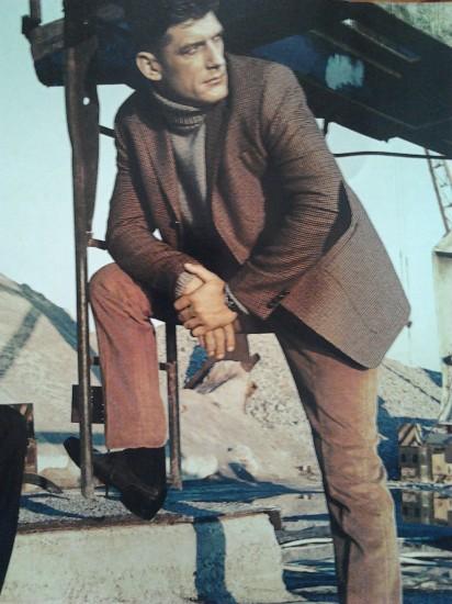 Cергей Борисов – ростовчанин, киноктер.Фотосессия для московского глянцевого журнала