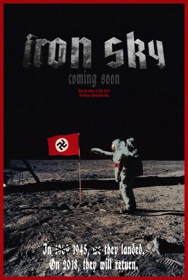 «Железное небо»/Iron Sky (2012 г.), реж. Тимо Вуоренсола, фантастика,боевик, комедия