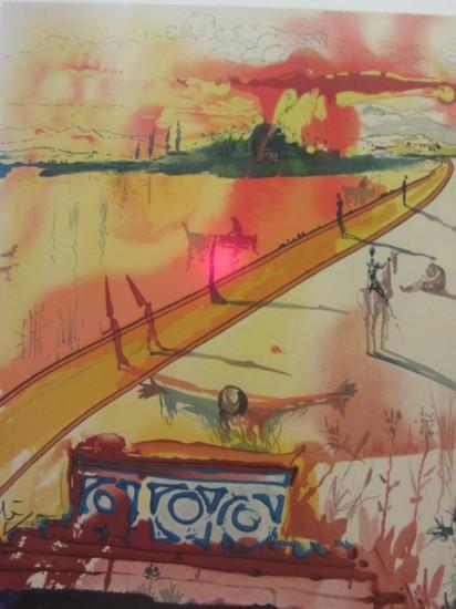 """Сальвадор Дали и Пабло Пикассо. Выставка """"Рапсодия страсти""""."""