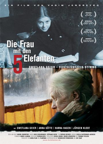 """""""Женщина с пятью слонами"""", Швейцария. Германия, 2009, Реж: Вадим Ендрейко"""