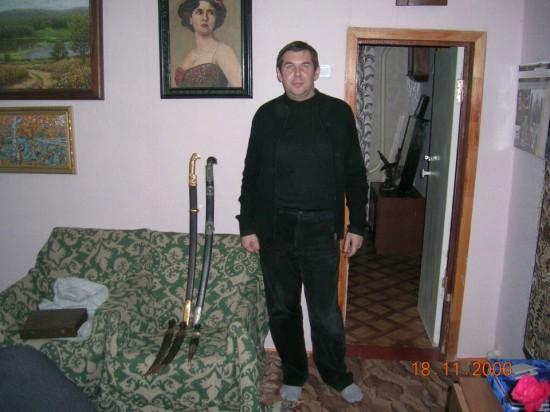 Зазеркалье. Олег Гапонов. Фото из архива героя