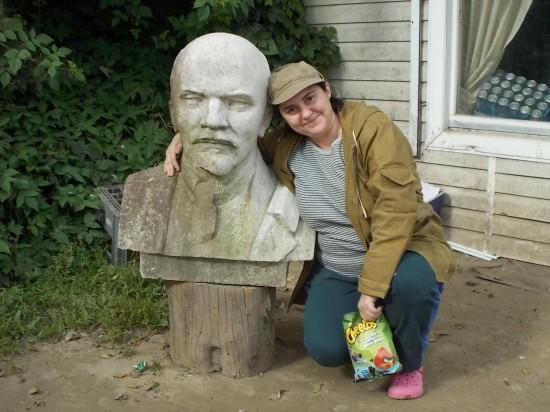 Катя и Ленин