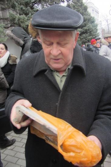 Ростову-на-Дону. Камень в честь Владимира Высоцкого