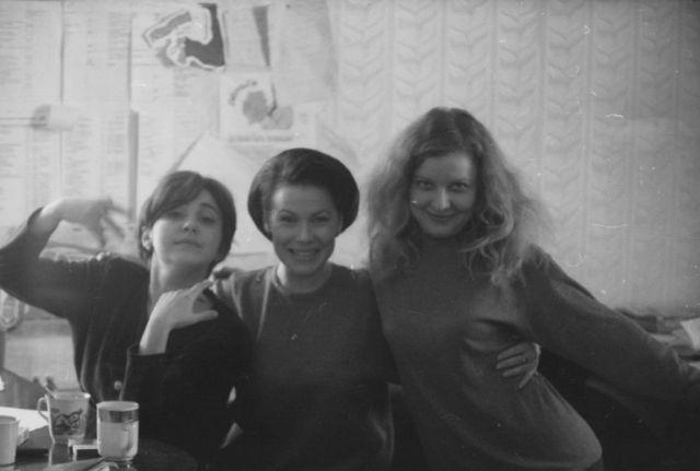 Катя Котикова, Виолетта Тагакова, Наталья Скоробач. Фото Игоря Залунина
