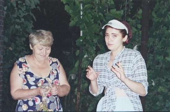 Любовь Баблоянц - мама Кати и Катя Котикова