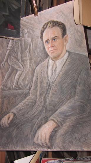 Василий Иващенко. Портрет Сергея Королькова