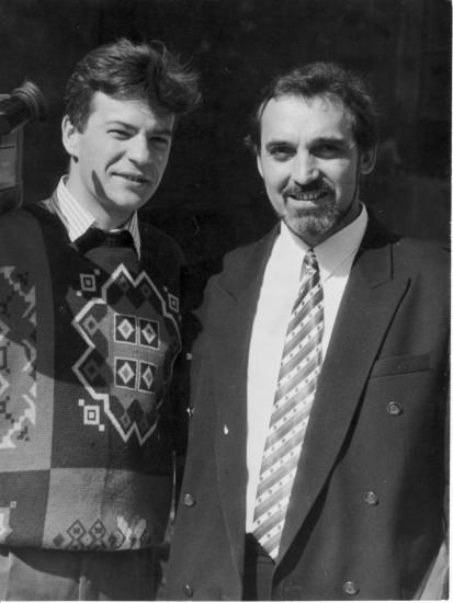 Роман Белиенко и Витор Лагутин 1 сент 1995