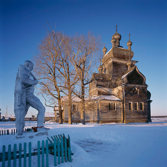 Турчасово, Архангельская обл., Церковь Преображения (1781). Фото Ричарда Дейвиса.