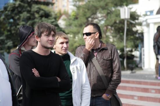 """Ростовские """"хулиганы"""" и оператор Руслан Хамчиев"""