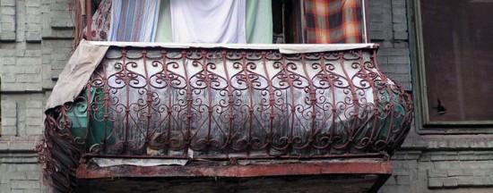 Баумана 5, балконное ограждение