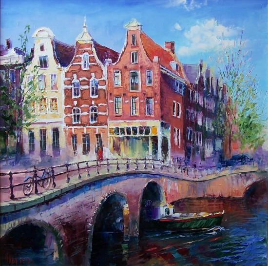 выставка импрессионистки Елены Мартенс «Голландские впечатления»