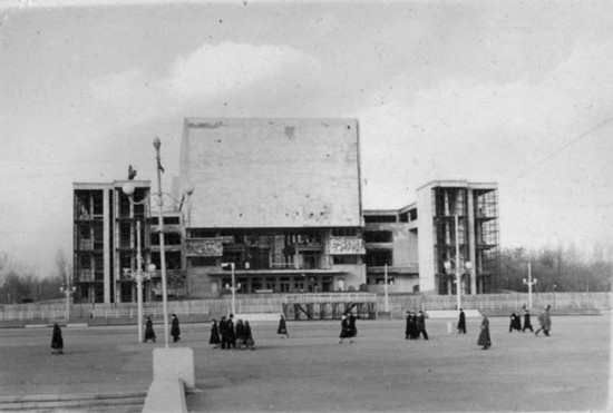 Ростов 1954 год Театральная площадь