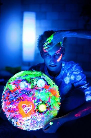 """""""Глобальная флюротерапия! Рисуем и фотографируемся!"""" Фотография: Фотография: страничка Евгении Кобурнеевой ВКонтакте"""