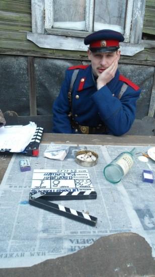 Артём Гордийко в роли милиционера образца 1958 года