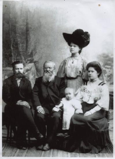Семья Посиделовых и Корольковых