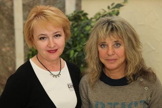 Галина Пилипенко, Suzi Quatro. Фото: Дмитрий Посиделов