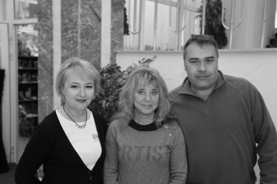 Галина Пилипенко, Suzi Quatro (Сьюзи Кватро),   Сергей Волоконский.  Фото: Дмитрий Посиделов