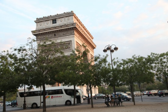 Франция. Париж. Триумфальная арка